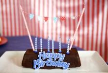 Un anniversaire inspiration fête foraine