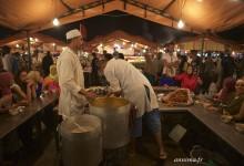 Une soupe et du bonheur, l'heure bleue à Marrakech